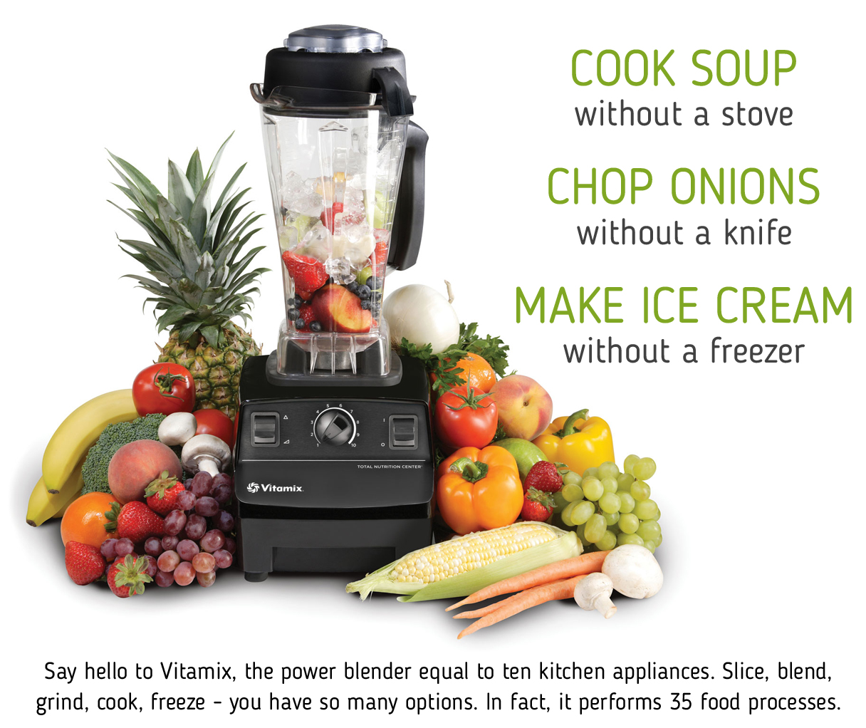 Vitamix Blender!